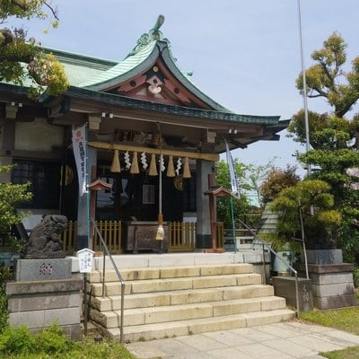 燈明寺の近くの神社お寺|白髭神社