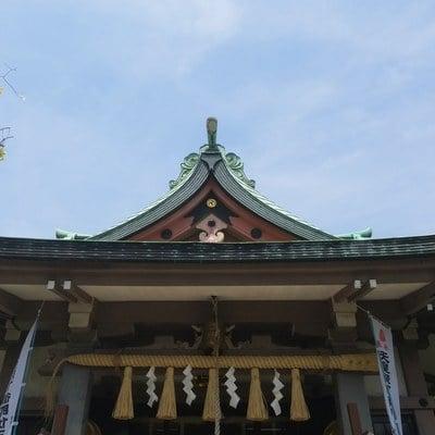 東京都白髭神社の本殿