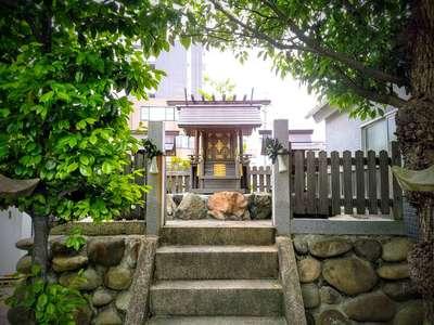 愛知県神明社(沢上神明社)の本殿