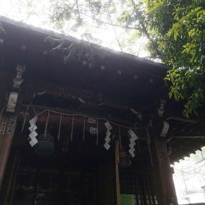 東京都櫻木神社の本殿