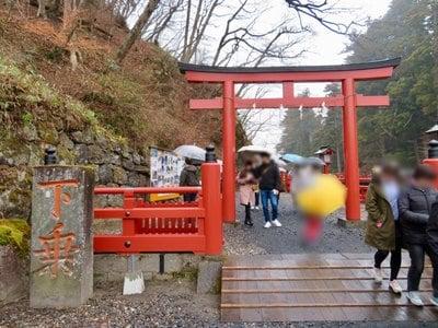 栃木県神橋(二荒山神社)の鳥居