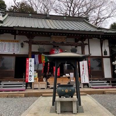 寺岡山元三大師の本殿