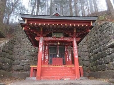 栃木県深沙王堂の本殿
