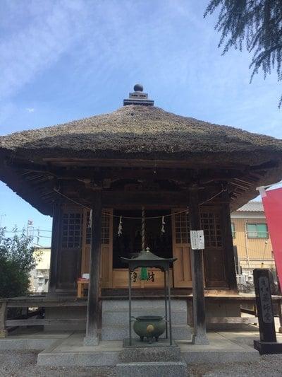 栃木県下野大師華蔵寺の本殿