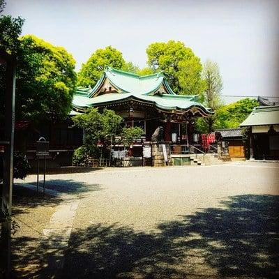 燈明寺の近くの神社お寺|諏訪神社