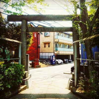 道了寺の近くの神社お寺|諏訪神社