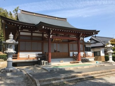 栃木県浄光寺の本殿