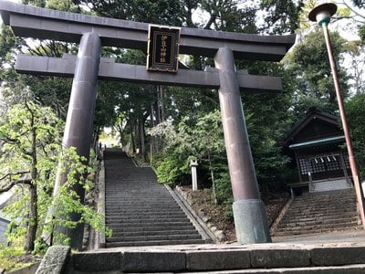 静岡県伊豆山神社の鳥居