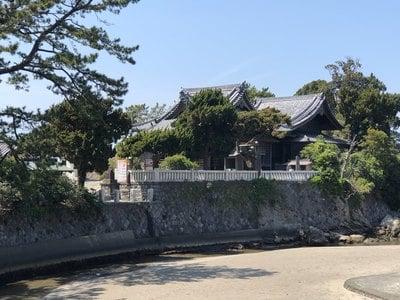 神奈川県森戸大明神(森戸神社)の本殿