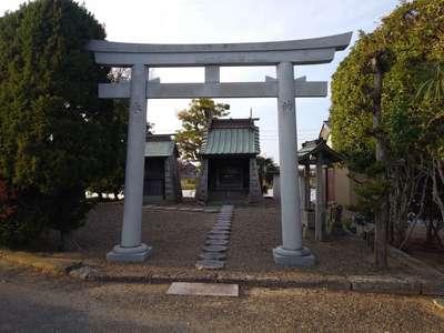中島水神社の鳥居