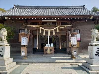 福岡県白山神社の本殿