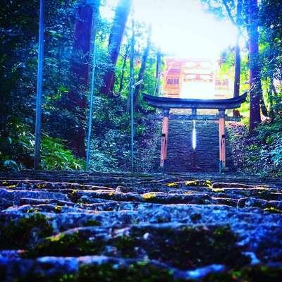 岡山県高岡神社の写真