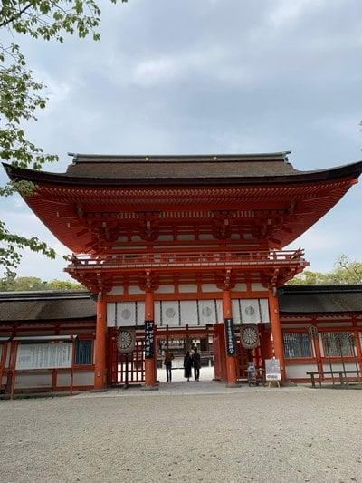 賀茂御祖神社(下鴨神社)(京都府出町柳駅) - 山門・神門の写真
