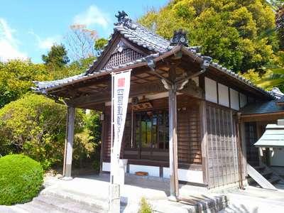 愛知県大仙寺の本殿