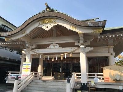 岡山県岡山神社の本殿