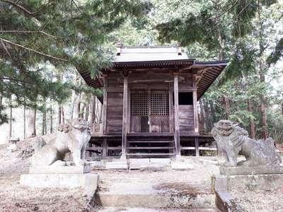 岩手県鬼死骸八幡神社の写真