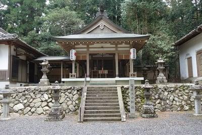 奈良県惣社水分神社の写真