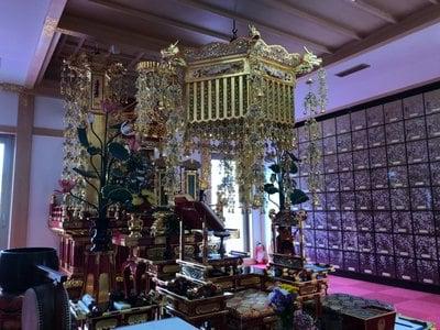 寿量山 速成寺の本殿