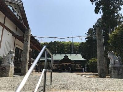 岡山県安仁神社の本殿