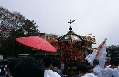 日吉山王神社のお祭り