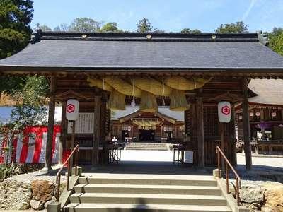 島根県熊野大社の山門