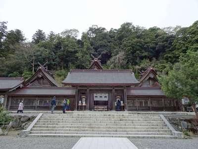 島根県佐太神社の本殿