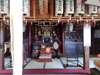 愛知県東光寺の本殿