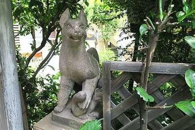 東京都笠間稲荷社の写真