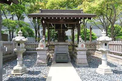 東京都明善稲荷大神の本殿