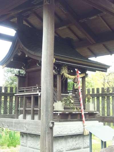 埼玉県矢倉稲荷社の本殿