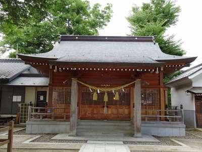 長野県布制神社の写真