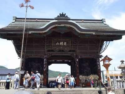 善光寺の山門