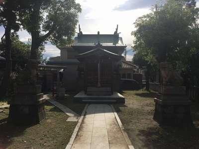 神奈川県大山祇神社の写真