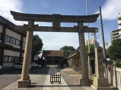 総持寺の近くの神社お寺 鶴見神社