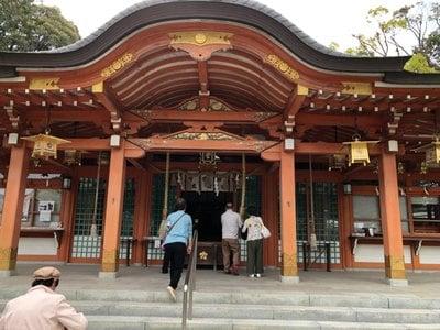 京都府長岡天満宮の本殿