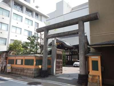 京都府京都大神宮の鳥居