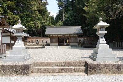 宇太水分神社の本殿