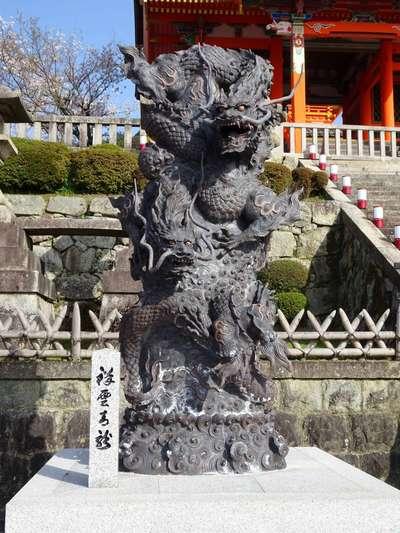 清水寺(京都府清水五条駅) - 狛犬の写真