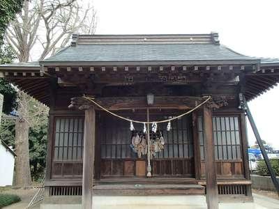 埼玉県新井宿 子日神社の本殿
