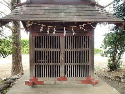 埼玉県稲荷大明神の本殿