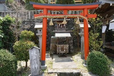 奈良県墨坂神社の鳥居