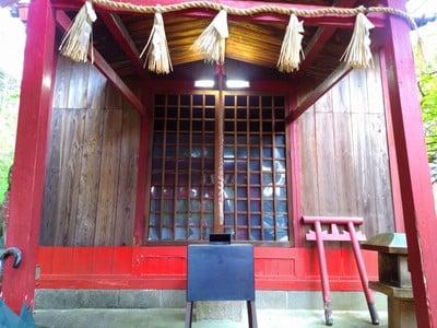 愛知県稲荷社(義市稲荷社)の本殿
