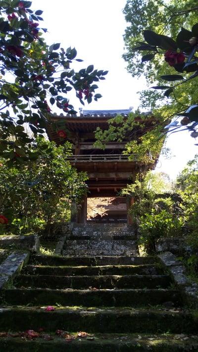常満寺の山門