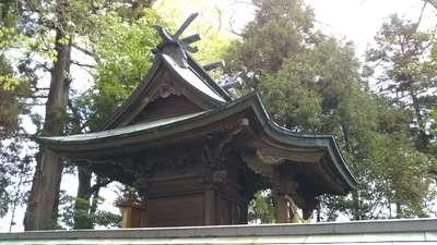 素鵞神社の本殿