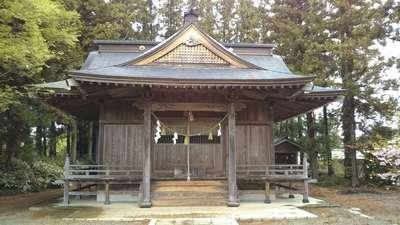 茨城県春日神社の本殿