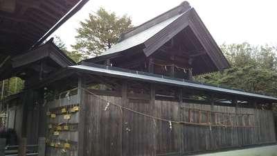 三枝祇神社の本殿