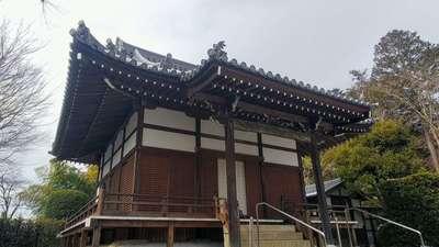 埼玉県能仁寺の本殿