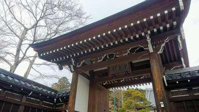 埼玉県能仁寺の山門