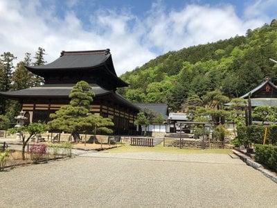山梨県向嶽寺の写真