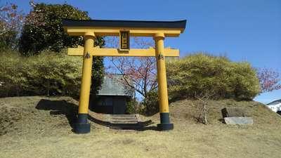 茨城県星野宮神社の鳥居